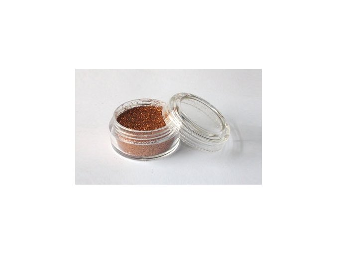 Trblietavý prášok Fengda Glitter Bronze 10 ml