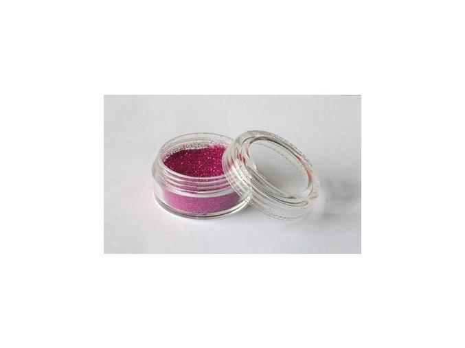 Trblietavý prášok Fengda Glitter Dark fuchsia 10 ml