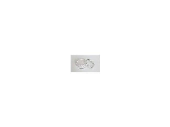Perleťová farba pre maľovanie na telo Fengda body painting silvery white 10 g