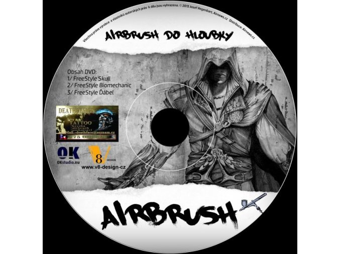 DVD airbrush do hĺbky