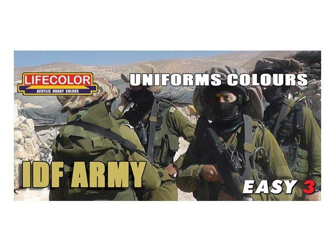 Set kamuflážnych farieb LifeColor MS10 UNIFORMS