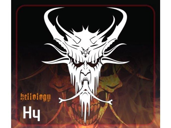 Airbrush šablona Hellology h4