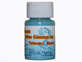 Airbrush tetovacia farba Fengda aqua blue 40 ml