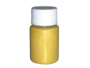 Airbrush tetovacia perleťová farba Fengda yellow 40 ml