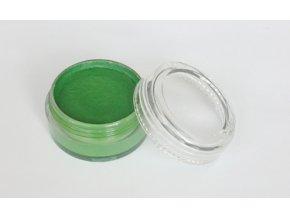 Farba pre maľovanie na telo a tvár Fengda body painting light green 10 g