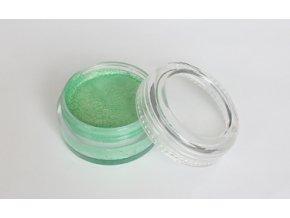 Perleťová farba pre maľovanie na telo Fengda body painting light green 10 g