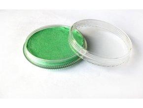 Perleťová farba pre maľovanie na telo Fengda body painting light green 30 g
