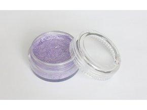 Perleťová farba pre maľovanie na telo Fengda body painting light purple 10 g