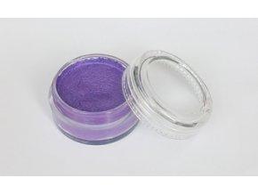 Perleťová farba pre maľovanie na telo Fengda body painting purple 10 g