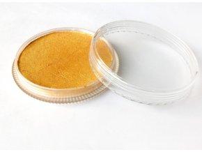 Perleťová farba pre maľovanie na telo Fengda body painting Pearly Golden 30 g