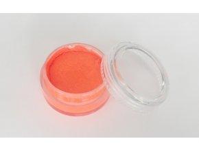 Fluorescentná farba pre maľovanie na telo Fengda body painting orange red 10 g