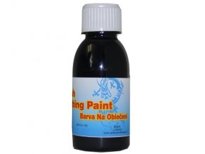 Airbrush farba na oblečenie Fengda black 100 ml