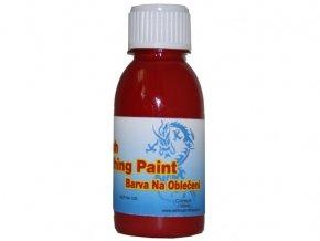 Airbrush farba na oblečenie Fengda crimson 100 ml
