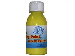 Airbrush farba na oblečenie Fengda lemon yellow 100 ml