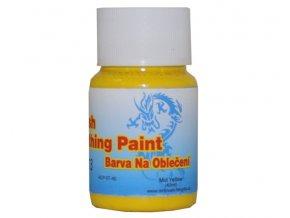 Airbrush farba na oblečenie Fengda mid yellow 40 ml