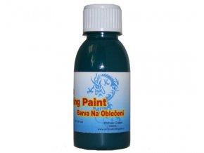 Airbrush farba na oblečenie Fengda phthalo green 100 ml