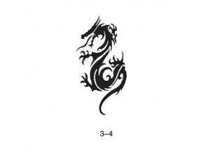 Šablóna pre trblietavé tetovanie Fengda 03-04