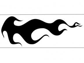 Airbrush šablóna plamene /flames C016