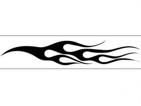 Airbrush šablóna plamene /flames C033