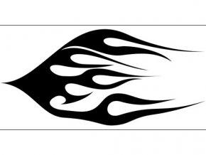 Airbrush šablóna plamene /flames C043