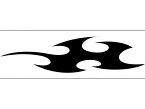 Airbrush šablóna plamene /flames C492