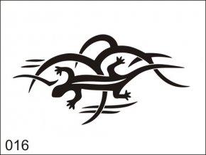 Airbrush tetovacia šablona pre jednorazové použitie M016