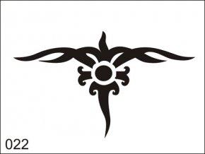 Airbrush tetovacia šablona pre jednorazové použitie M022