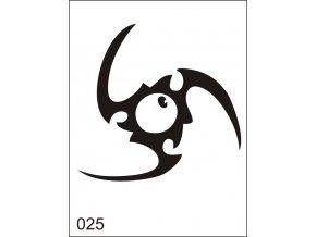 Airbrush tetovacia šablona pre jednorazové použitie M025