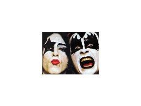 Maľovanie na tvár / Facepaintig set 14 - KISS
