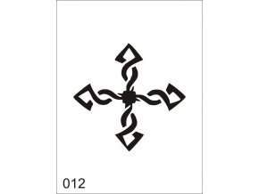 Airbrush tetovacia šablóna pre jednorazové použitie V012