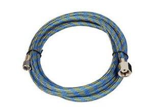 Modrá hadica Fengda BD-21 prípojná 3,0 m šrobovanie G1/4 - G1/8