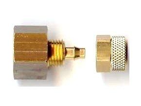 G1/4 konektor pre 4x6mm hadicu (opletaná i transparentná)