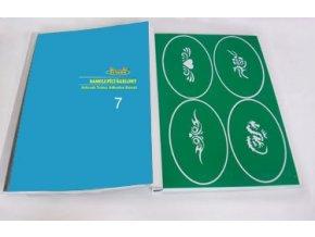 Airbrush tetovacie šablóny - kniha 07