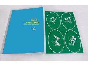 Airbrush tetovacie šablóny - kniha 14