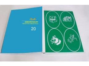 Airbrush tetovacie šablóny - kniha 20