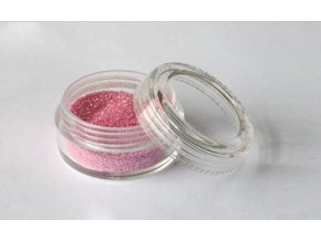Trblietavý prášok Fengda Glitter Baby pink 10 ml