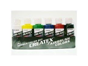 Createx Opaque starter set 6x60ml