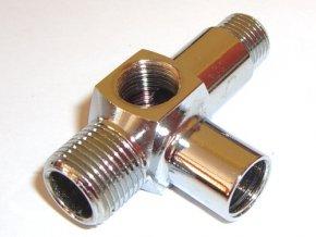 Spojka spätného ventilu, dvoch hláv a solenoidu