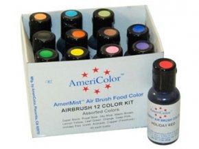 Set 12 barev Americolor (12x19ml)