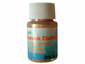 Airbrush farba na oblečenie Fengda golden 40 ml