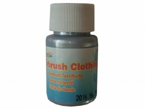 Airbrush farba na oblečenie Fengda silver 40 ml