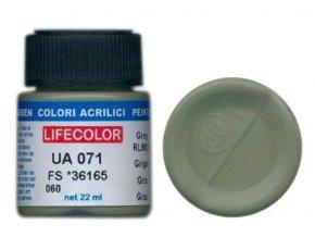 Barva LifeColor UA071 mimetic grey rim 02