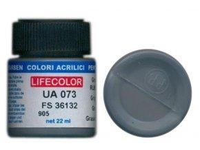 Barva LifeColor UA073 mimetic grey rim 75