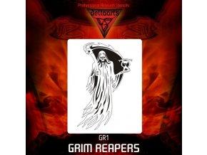 Airbrush šablona Grim Reapers gr1