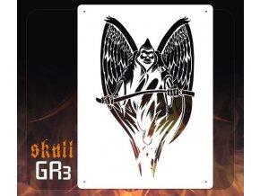 Airbrush šablona Grim Reapers gr3