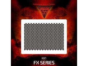 Airbrush šablona hexapant hx1