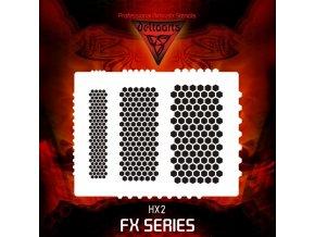 Airbrush šablona hexapant hx2 MID