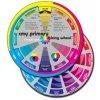 Koleso pre miešanie CMY farieb