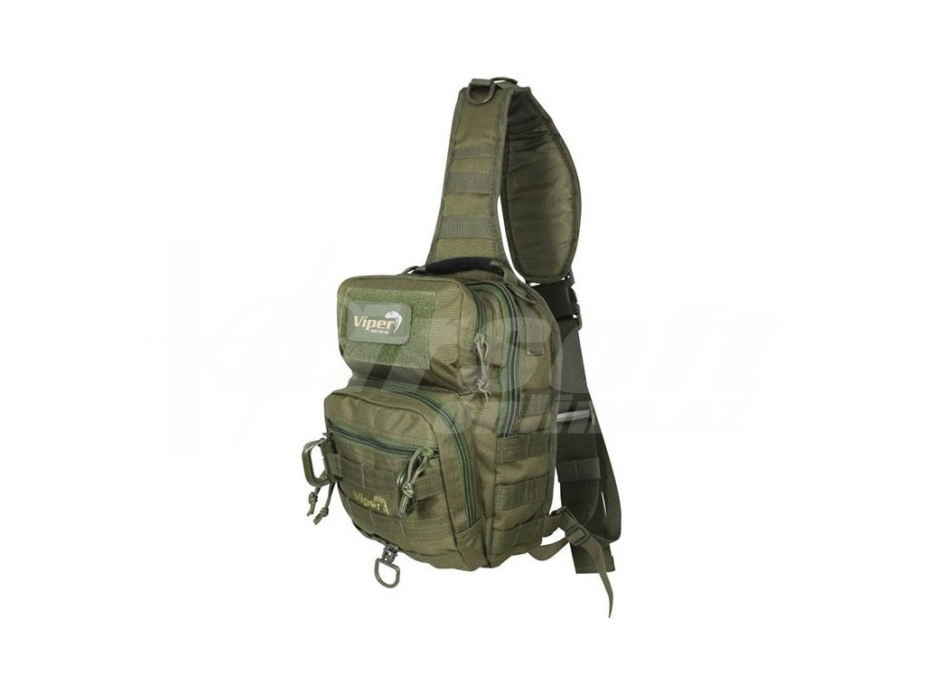 8ae433deb0 Batoh VIPER přes rameno 10L - zelený