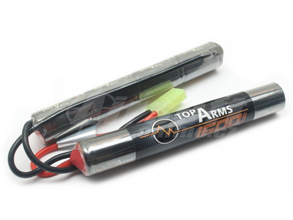 Akumulátor TopArms NiMH 9,6V 1600mAh - Mini CQB